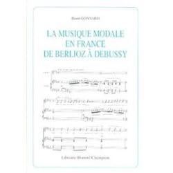 La musique modale en France de Berlioz à Debussy laflutedepan
