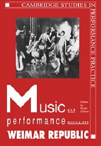 Music and performance during the Weimar Republic - laflutedepan.com