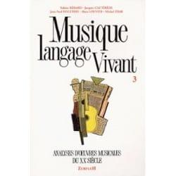 Sabine BÉRARD - Musique langage vivant, vol. 3 - Livre - di-arezzo.fr
