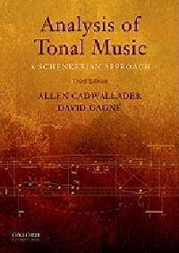 CADWALLADER Allen / GAGNÉ David - Analysis of tonal music: a Schenkerian approach (book in English) - Book - di-arezzo.co.uk