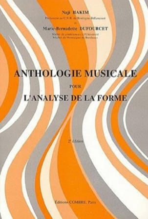 HAKIM Naji / DUFOURCET Marie-Benadette - Musical anthology for the analysis of the form - Book - di-arezzo.co.uk