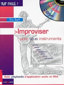 Eric BOELL - Improvise for all instruments - Book - di-arezzo.co.uk