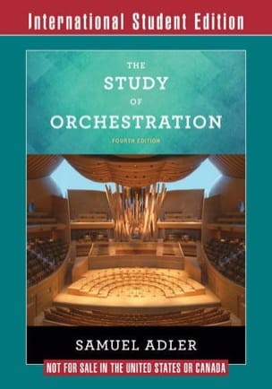 The study of orchestration : International student edition - laflutedepan.com