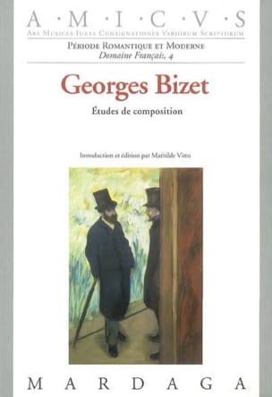 Etudes de composition sous la direction de Georges Bizet laflutedepan