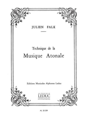 Julien FALK - Atonal music technique - Book - di-arezzo.co.uk