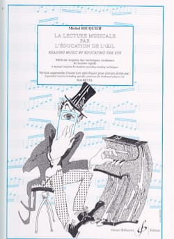 Michel RICQUIER - Musical Reading by The Eye's Education - Book - di-arezzo.co.uk