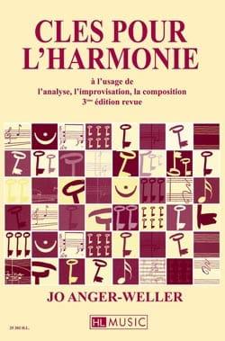 ANGER-WELLER Jo - Clés pour l'harmonie à l'usage de l'analyse, l'improvisation, la composition - Livre - di-arezzo.fr