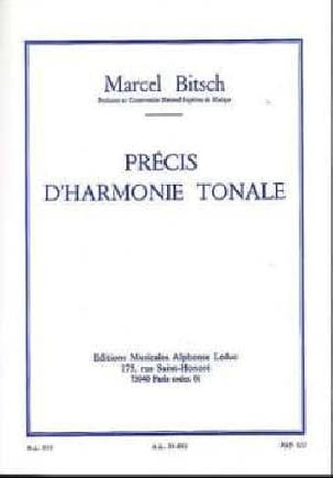 Marcel BITSCH - Accurate tonal harmony - Book - di-arezzo.co.uk