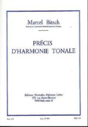 Précis d'harmonie tonale Marcel BITSCH Livre Harmonie - laflutedepan