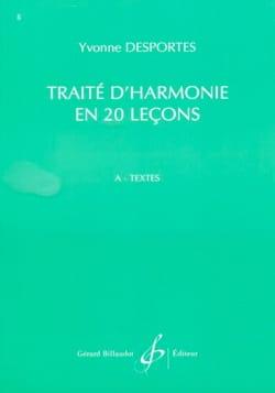 Yvonne DESPORTES - Treaty of Harmony in 20 Lessons - A (Texts) - Book - di-arezzo.co.uk