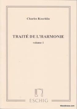 Traité de l'harmonie vol. 1 Charles KOECHLIN Livre laflutedepan