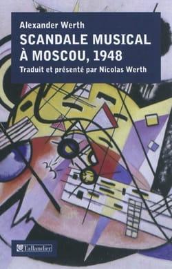 Scandale musical à Moscou, 1948 Alexander WERTH Livre laflutedepan