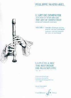 L'art de diminuer aux XVIe et XVIIe siècles, vol. 1 laflutedepan