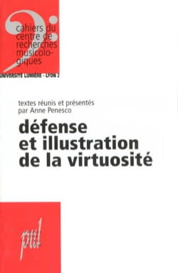 Anne PENESCO - Defense and illustration of virtuosity - Sheet Music - di-arezzo.com