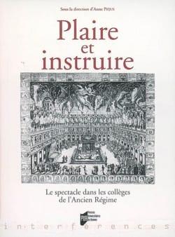Plaire et instruire : le spectacle dans les collèges de l'Ancien Régime laflutedepan