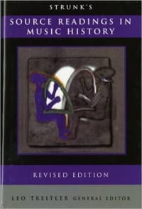 Oliver STRUNK - Source readings in music history - Livre - di-arezzo.fr