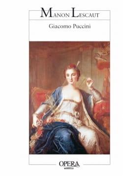 Manon Lescaut - Giacomo Puccini - Livre - laflutedepan.com