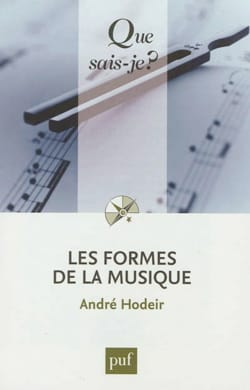 André HODEIR - The forms of music - Book - di-arezzo.co.uk