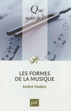 André HODEIR - Les formes de la musique - Livre - di-arezzo.fr