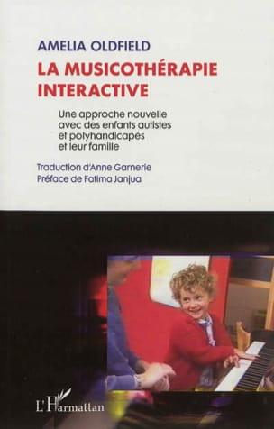 La musicothérapie interactive Amelia OLDFIELD Livre laflutedepan