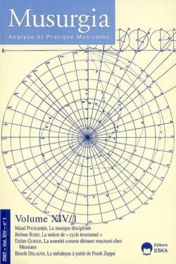 Musurgia, vol. XIV - n° 1 (2007) - Revue - Livre - laflutedepan.com