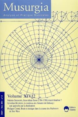 Musurgia, vol. XIV - n° 2 (2007) - Revue - Livre - laflutedepan.com