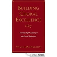 Steven M. DEMOREST - Choral Building Excellence: teaching sight-singing in the choral rehearsal - Book - di-arezzo.co.uk