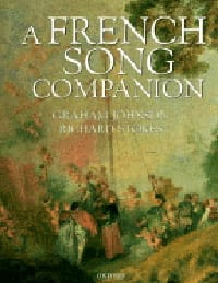 A French song companion JOHNSON Graham / STOKES Richard laflutedepan