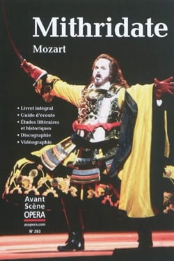 Avant-scène opéra (L'), n° 263 : Mithridate MOZART Livre laflutedepan