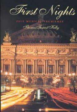First nights : five musical premieres - LIVRE D'OCCASION laflutedepan
