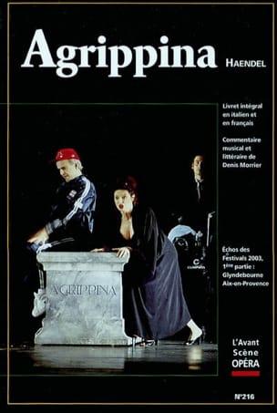 Avant-scène opéra (L'), n° 216 : Agrippina HAENDEL Livre laflutedepan