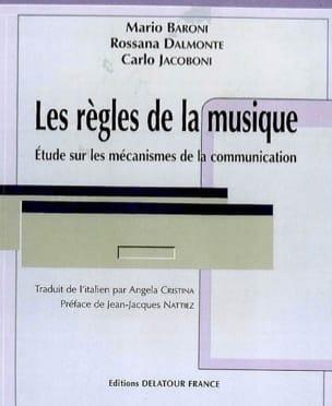 Les règles de la musique : études sur les mécanismes de la communication laflutedepan