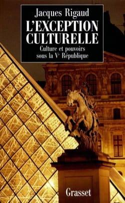L'exception culturelle : culture et pouvoirs sous la Ve République laflutedepan