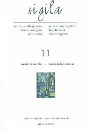 Sigila, n° 11 Tonalités secrètes Tonalidades secretas - laflutedepan.com