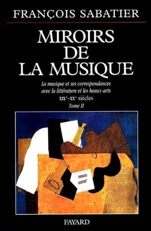 Miroirs de la musique, vol. 2 - François SABATIER - laflutedepan.be