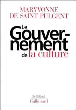 Le gouvernement de la culture Maryvonne de Saint-Pulgent laflutedepan