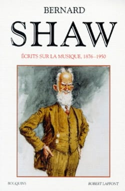 Ecrits sur la musique Bernard SHAW Livre Les Arts - laflutedepan
