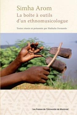 La boîte à outils d'un ethnomusicologue Simha AROM Livre laflutedepan
