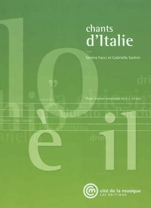 Chants d'Italie : pour chanter ensemble de 8 à 14 ans - laflutedepan.com