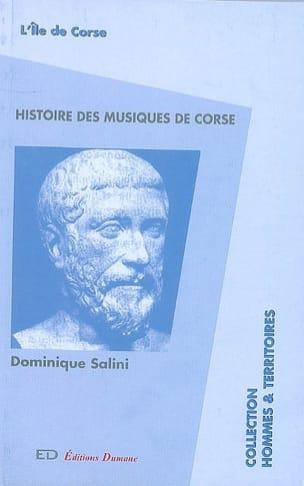 Histoire des musiques de Corse - Dominique SALINI - laflutedepan.com