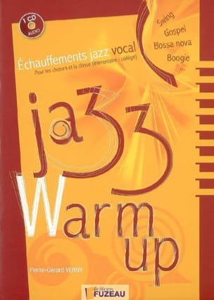 VERNY Pierre-Gérard - Jazz warm up: jazz vocal warm-ups for choirs and class - Book - di-arezzo.co.uk