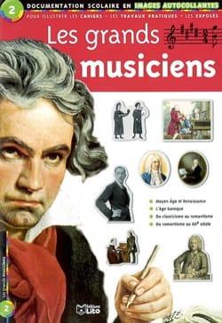 Les grands musiciens - Adélaïde de Place - Livre - laflutedepan.com