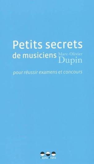 Petits secrets de musiciens pour réussir examens et concours laflutedepan