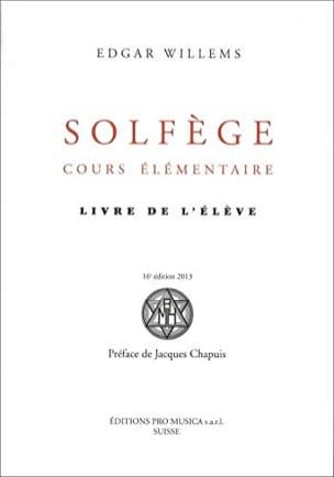 Edgar WILLEMS - Solfeggio Elementary Course: Student Book - Book - di-arezzo.co.uk