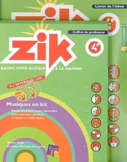 Zik, 4e : coffret du professeur et livret de l'élève - laflutedepan.com