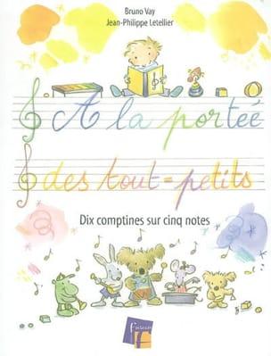 A la portée des tout-petits : dix comptines sur cinq notes - laflutedepan.com
