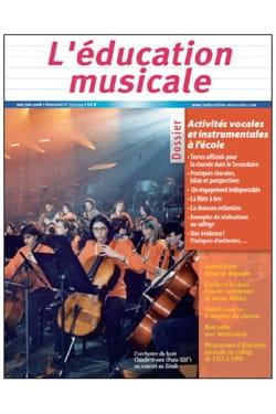 Revue - Music Education No. 553/554: vocal and instrumental activities at school - Book - di-arezzo.com