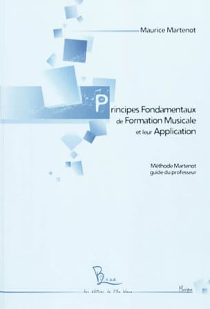 Maurice MARTENOT - Fundamentals of Music Training and Their Application - Book - di-arezzo.com