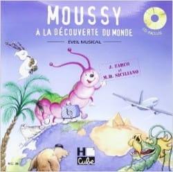 Moussy SICILIANO Marie-Hélène Livre Contes musicaux - laflutedepan