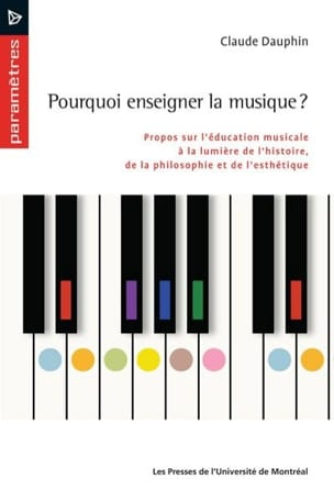 Claude DAUPHIN - Why teach music? - Book - di-arezzo.com